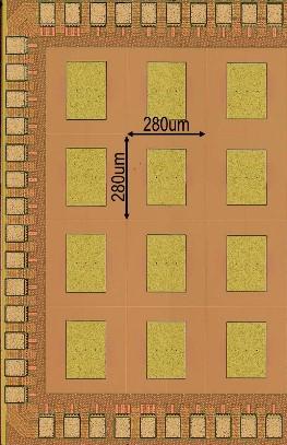 0.5THz CMOS Detector Chip photo